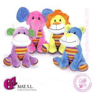 Animales Colorines 40 cm.