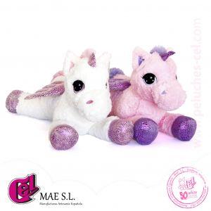 Unicornios en 2 colores 80 cm.