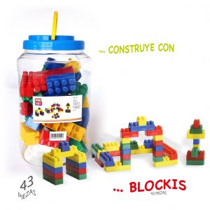 blockis piezas 43piezas
