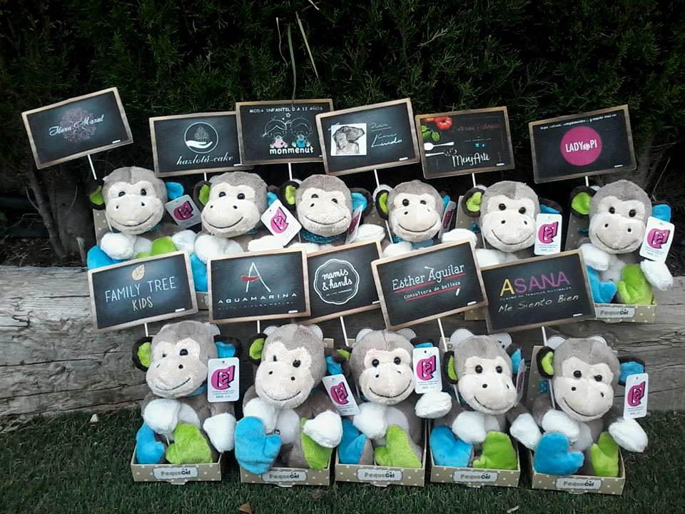 Monos de peluche personalizados